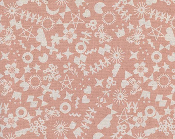 Pre-Sale- Cut It Out in Peachy -Paper Cuts -Rashida Coleman-Hale for Cotton + Steel