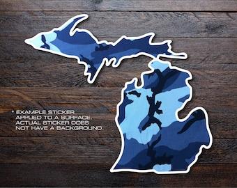 Michigan Mitten Vinyl Decal Sticker A27