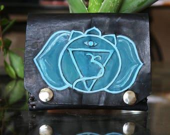 Third Eye Charka Fold over wallet