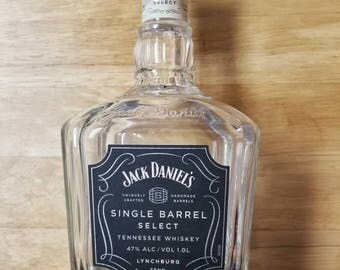 Empty Jack Daniels Single Barrel Select Bottle