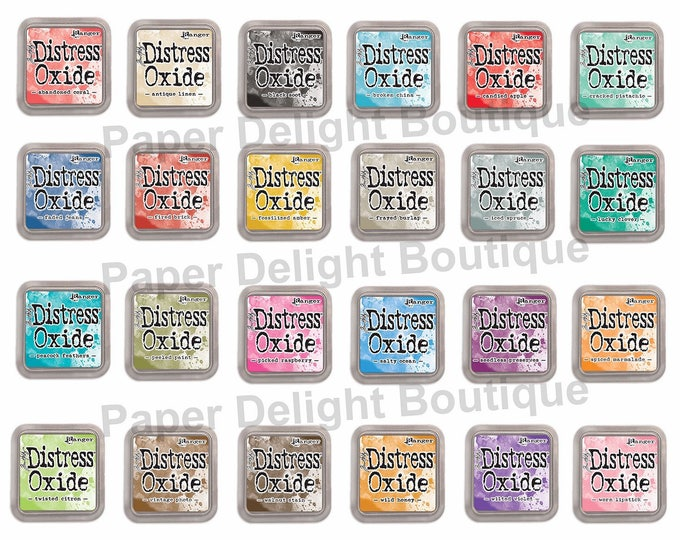 Ranger Tim Holtz Distress Oxide Ink Pads - Choose from 24 Colors!