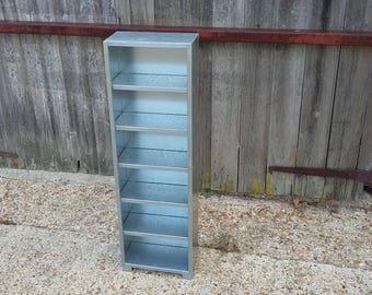Tall Thin Metal Zinc Shelves