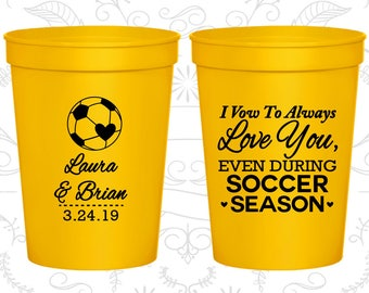 Yellow Stadium Cups, Yellow Cups, Yellow Party Cups, Yellow Wedding Cups (307)