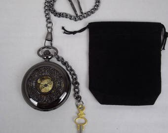 steampunk pocket watch, Fob watch, time piece, Quartz watch, Groomsman, time piece