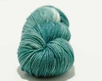 Hand Dyed Yarn - MCN Worsted- 'OOAK' - 200 yards - 80/10/10 Superwash Merino/Cashmere/Nylon