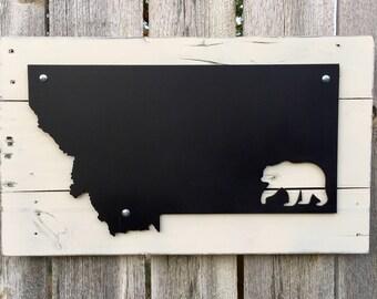 Montana Metal Bear