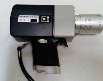 Korvette Super 8 power zoom camera