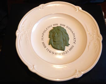 Napoleon BONAPARTE porcelain plate PIERRE MOTTON 10.75 Inch Diameter French Limited Edition 0239/2000