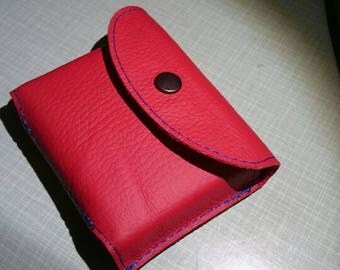 Leather Playing Cards Pouch