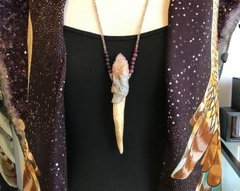 D E E R  A N T L E R  ||  Wearable Wand Necklace