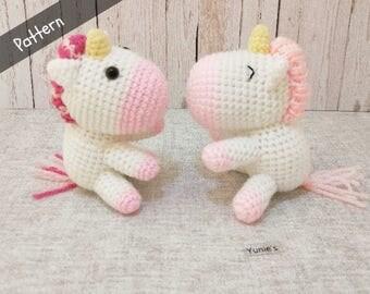 Crochet Unicorn Pattern, Unicorn Crochet Pattern, Unicorn Crochet amigurumi, unicorn gift, unicorn decorations, Amigurumi Pattern