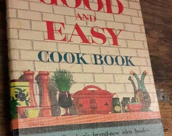 Vintage Betty Crocker Cookbook 1950s
