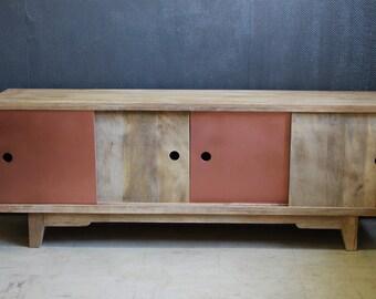 Scandinavian row wood copper