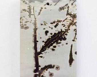 Lovely Large Chinese Painting Jasper Pendant Stone, Focal Bead, Cabachon, Pendant Bead, item 1, AA Quality