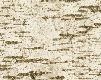 C5575 Majestic**White Birch Tree Bark** Landscape Art Quilting Fabric ****6 FAT QUARTERS AVAILABLE****