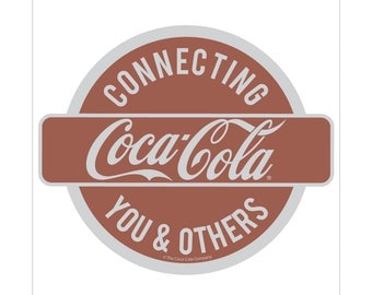Coca-Cola Connecting to Others Vinyl Sticker - 158885