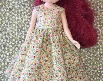 Tiny Calico Dress