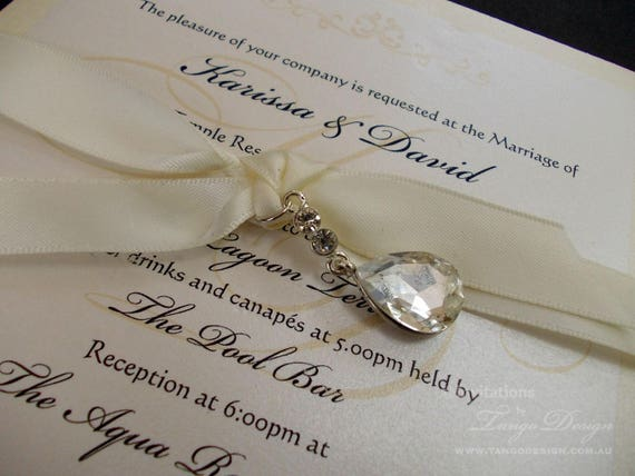 crystal wedding invitation elegant wedding invitations unique invites winter wonderland wedding starry theme birthday invitation - Elegant Wedding Invitations With Crystals