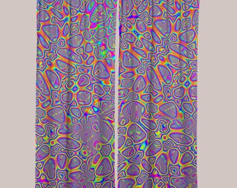 Metamorphosis Curtain (1 Panel) // Psychedelic Men and Womens Festival Clothing, Accessories & Decor by Samuel Farrand