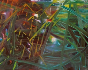 GERHARD RICHTER - 'Abstract Painting No. 439' - original archival quality print - very  large (Curwen Press, London)