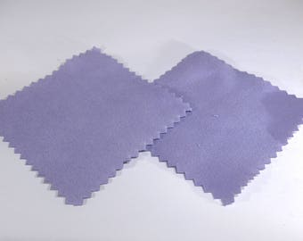 10 Jewelry polishing cloth, purple color, for sterling silver, antique silver, anti-tarnish (JC151)