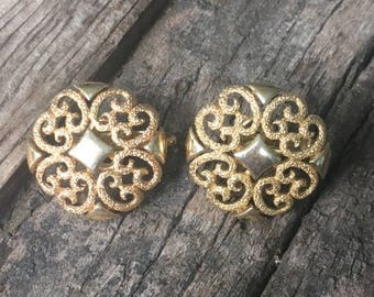 Avon Filigree Earrings