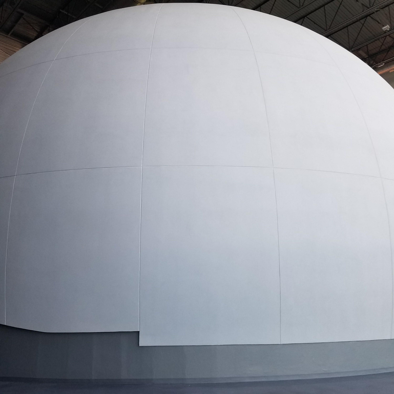 Planetarium Dome: South Carolina State Museum   Nerd in the Brain