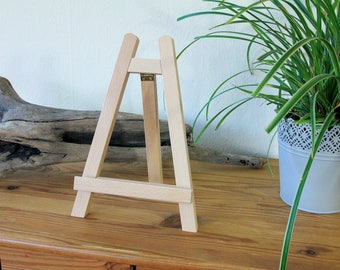 Table easel, easel, wood