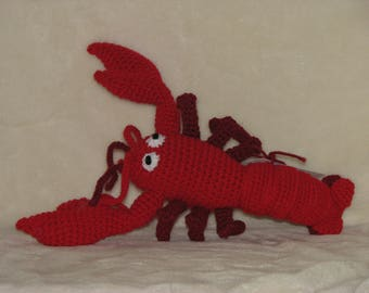 "Louie Lobster - 13"" long stuffed lobster"