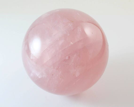 Star Rose Quartz Sphere, M-481