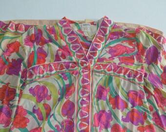Vintage 1960s Pucci Maxi Dress/Robe