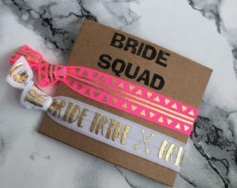 Bride Squad Hair Ties