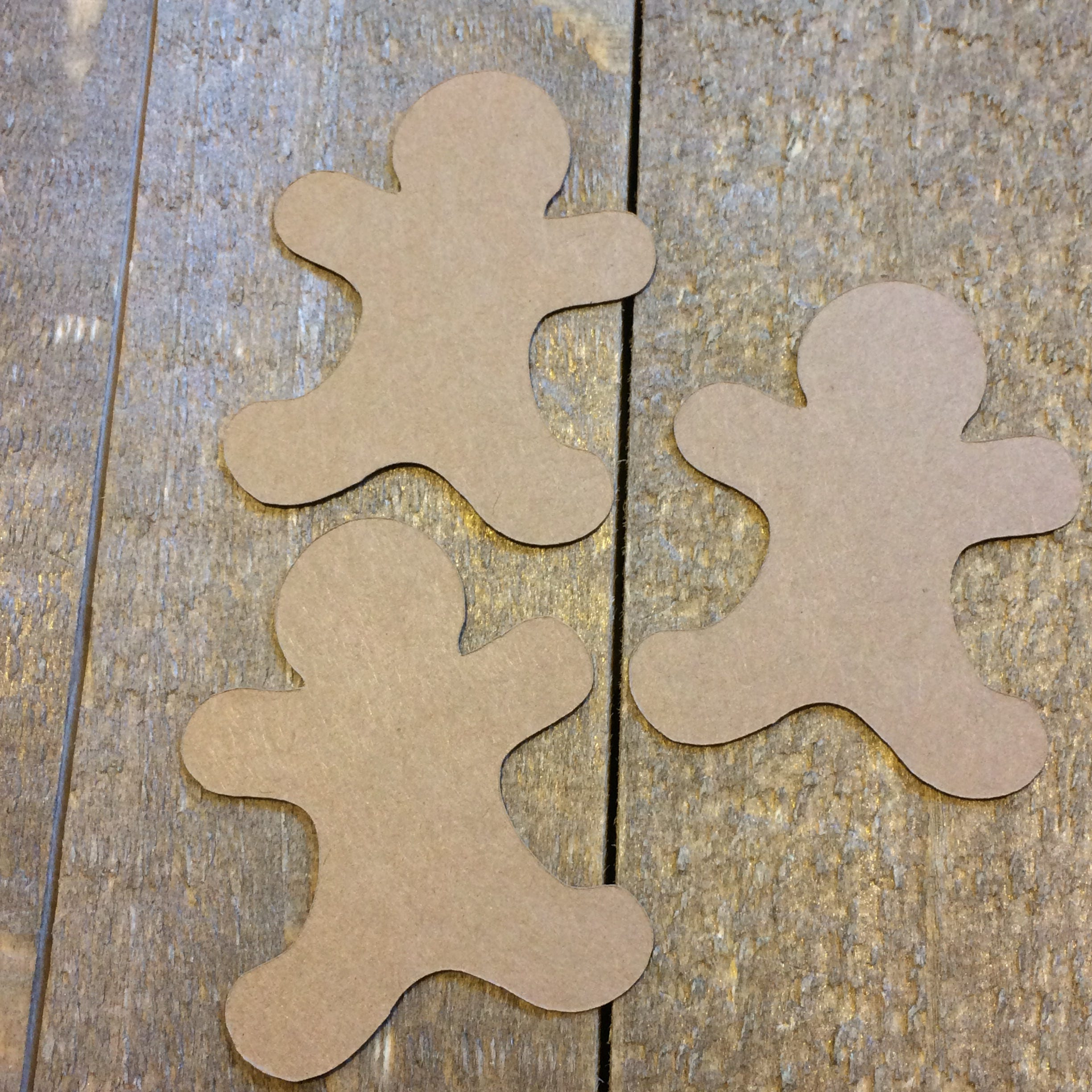 Christmas Gingerbread Man Table Confetti Holiday Table