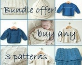 OFFER! Choose any 3 patterns