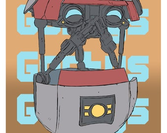 Borderlands Gortys Poster