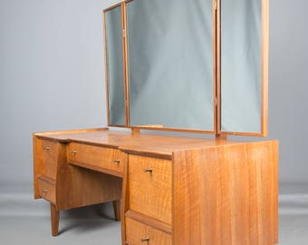 Mid century Dressing Table Children's Desk Walnut Retro made by A Youngers Furniture