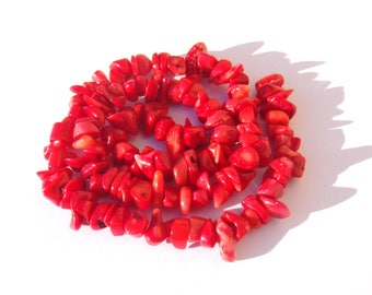10 pearls very irregular 5/11 mm in diameter about bamboo coral chips