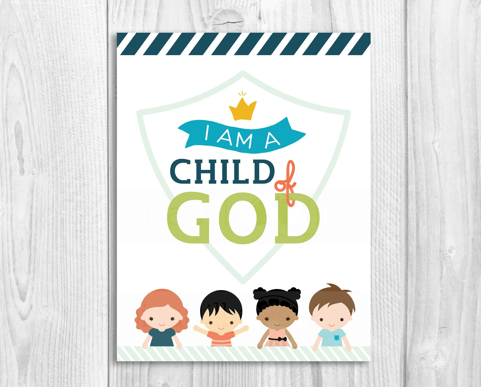 2018 primary theme lds sharing time ctr i am a child of god