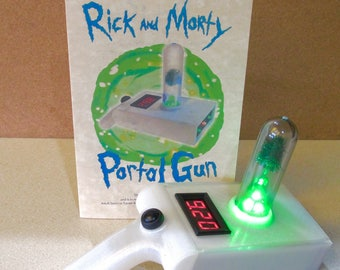 Portal Projector Gun - RICK and MORTY Teleporter