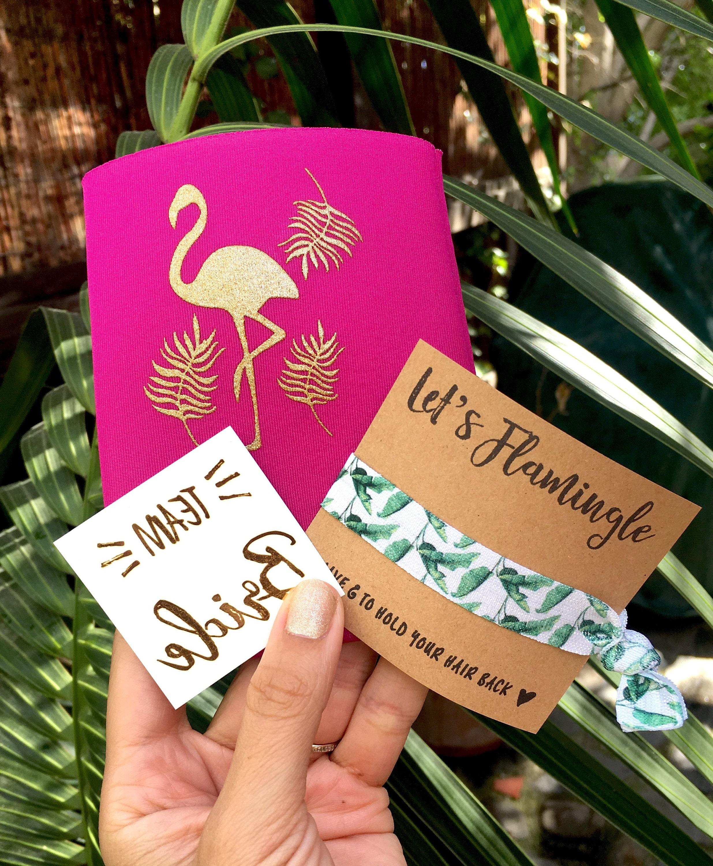 Bachelorette Party Favors Flamingo Palm Trees