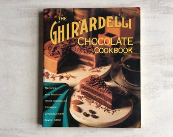1995 Edition of Ghiradelli Chicolate Cookbook