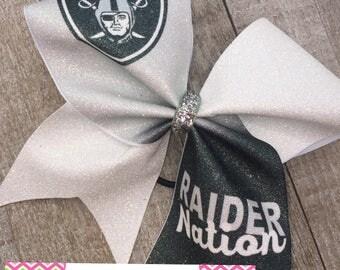 Raider Nation Cheer Bow