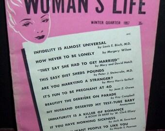 1957 Women's Life magazine