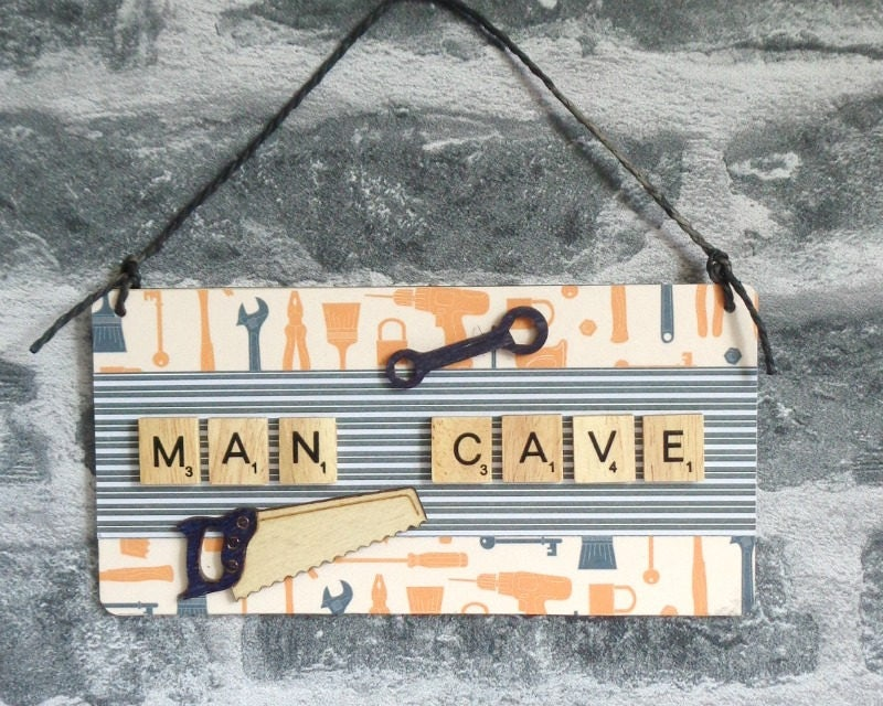 Man Cave Gifts For Dad : Man cave sign gift for dad christmas present birthday