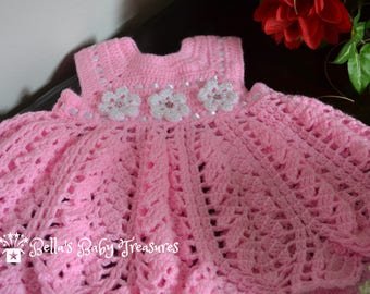 12 Month Pink Baby Dress