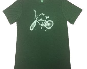 Bike Triblend Tee - by Kiss a Cow