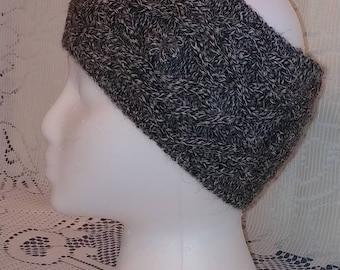 Alpaca Cable Knit Headband/Earwarmer
