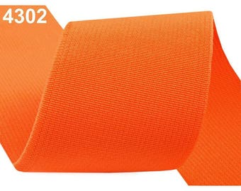 5 cm orange 4302 elastic band