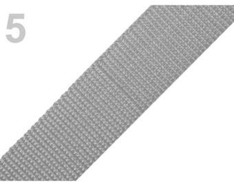 5 - Strap 30 mm light grey polypropylene