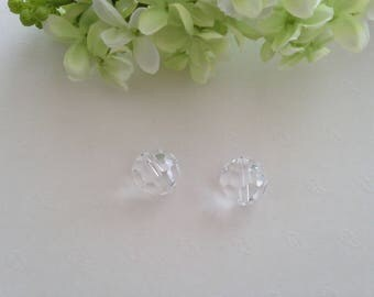 large 18mm 1pc bead faceted swarovski crystal